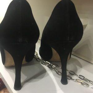 Manolo Blahnik Shoes - Manolo BB size37 black suede